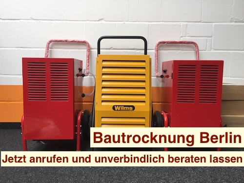 Bau Entfeuchter Berlin & Brandenburg