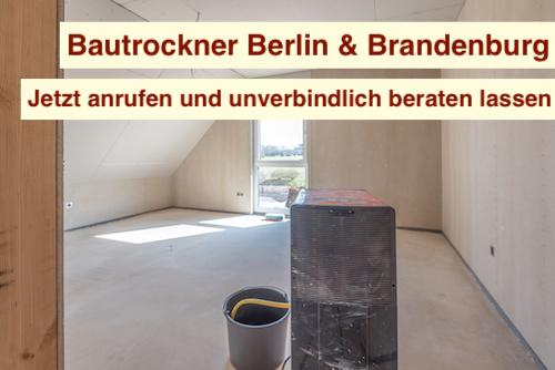 Bautrockner Neubau Berlin & Brandenburg